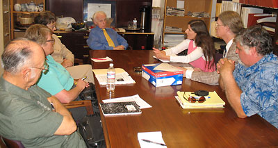 Meeting with Representative Tom Lantos on August 30, 2007